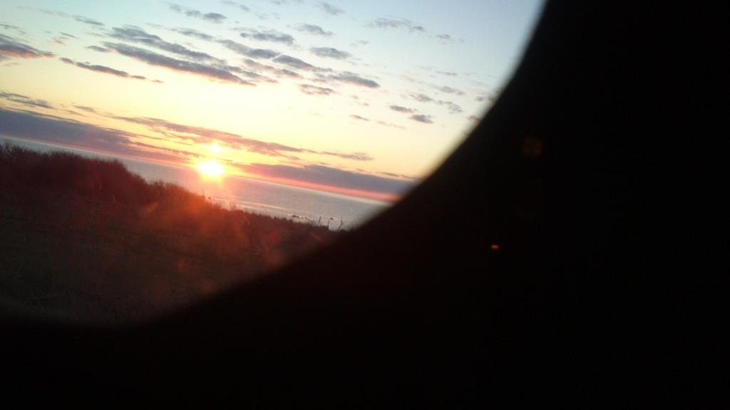 Solen på vej op