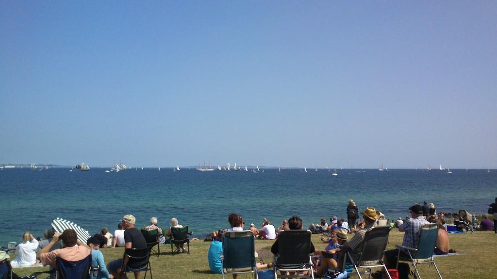 Sejlskibe i massevis