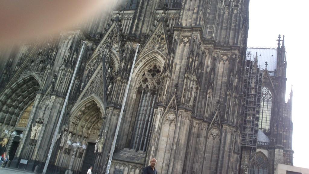 Domkirken i Køln set fra Strada