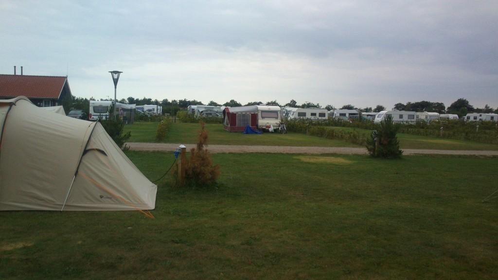 Mit telt er endt som legetelt i Ribe