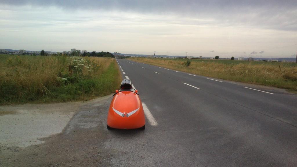 På vej alene fra Reims