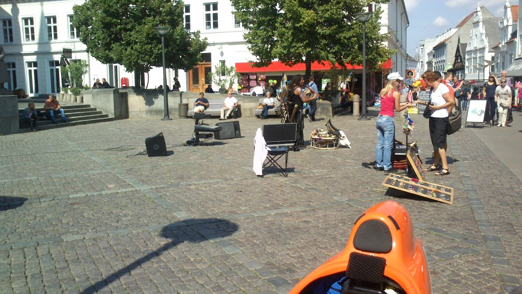 Musik til frokosten i Vejle