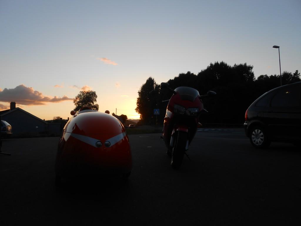 SBS 2013 Strada og Honda