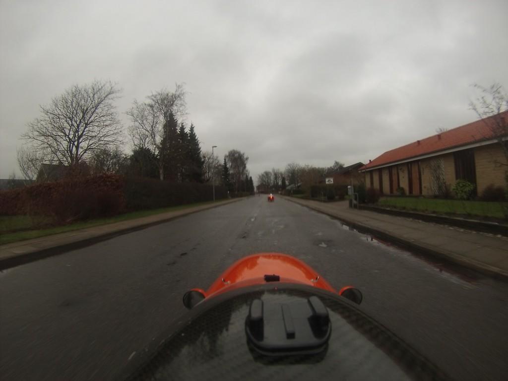 Strada og Quest Xs på vej mod Dronninglund