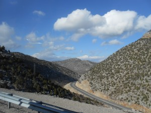 Taurusbjergene. Passet lå i 1825 meters højde