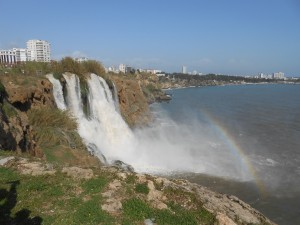 Vandfald Antalya