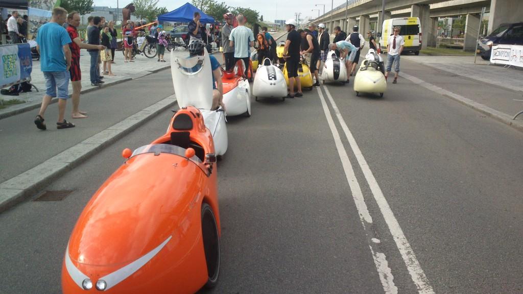 Klar til start af Street Race 2014