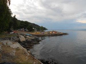 Camping ved Oslo Fjorden