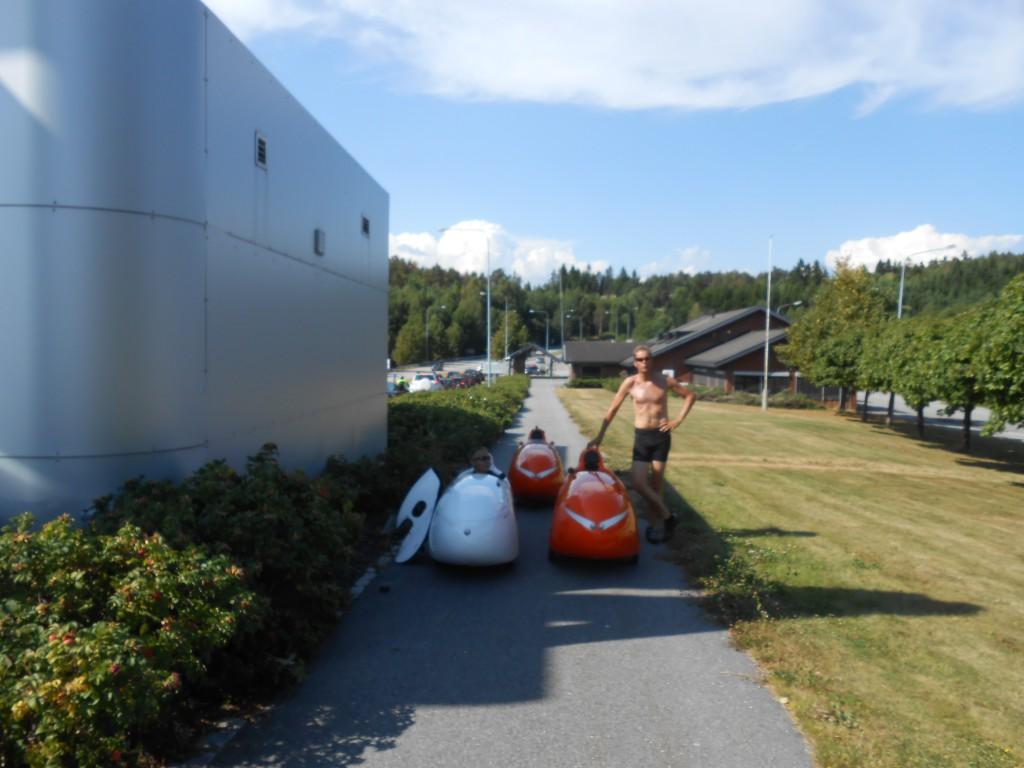 Grænsen til Sverige Bjørn og Halfdan