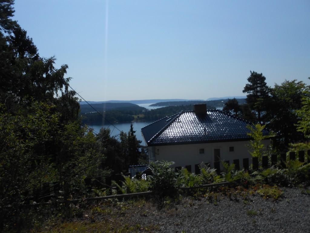 Vue ud over Oslo Fjorden