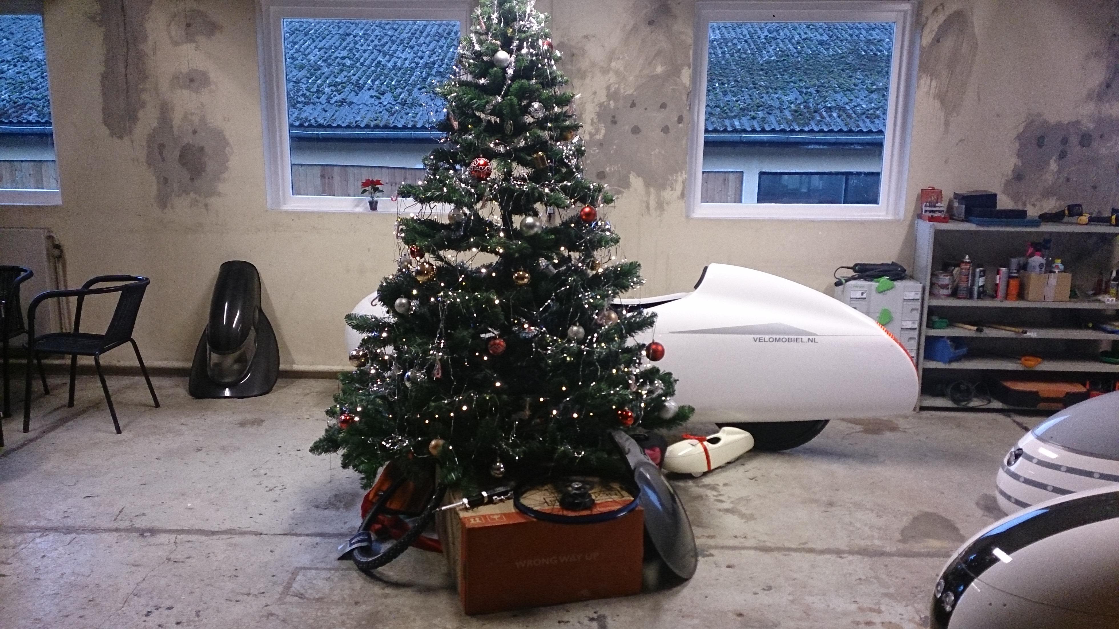 Juletræf og juletræ