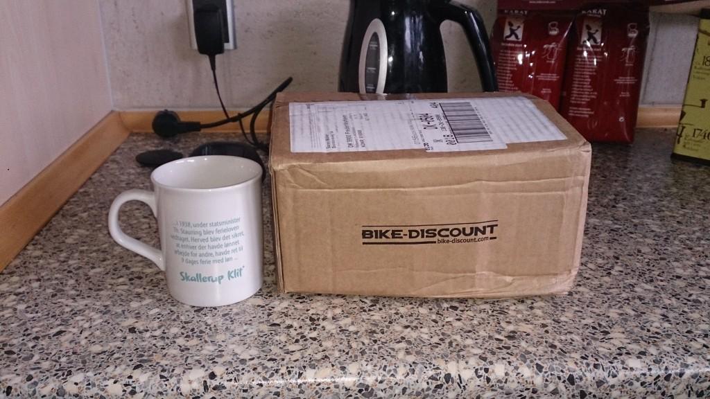 Stor pakke fra bike discount
