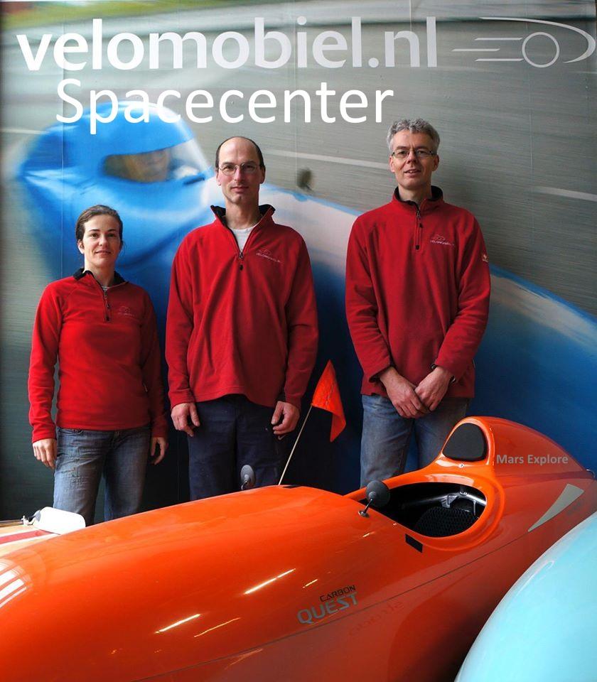 Velomobiel Spacecenter lækket foto