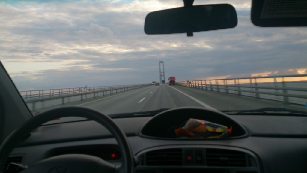 Matrix vue Storbæltsbroen