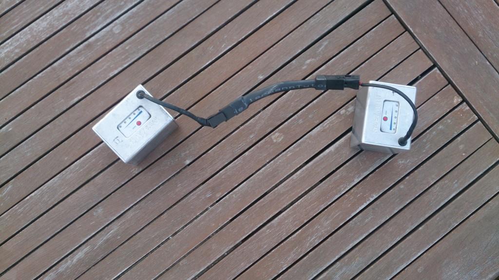 Booster mellem 2 flevobatterier