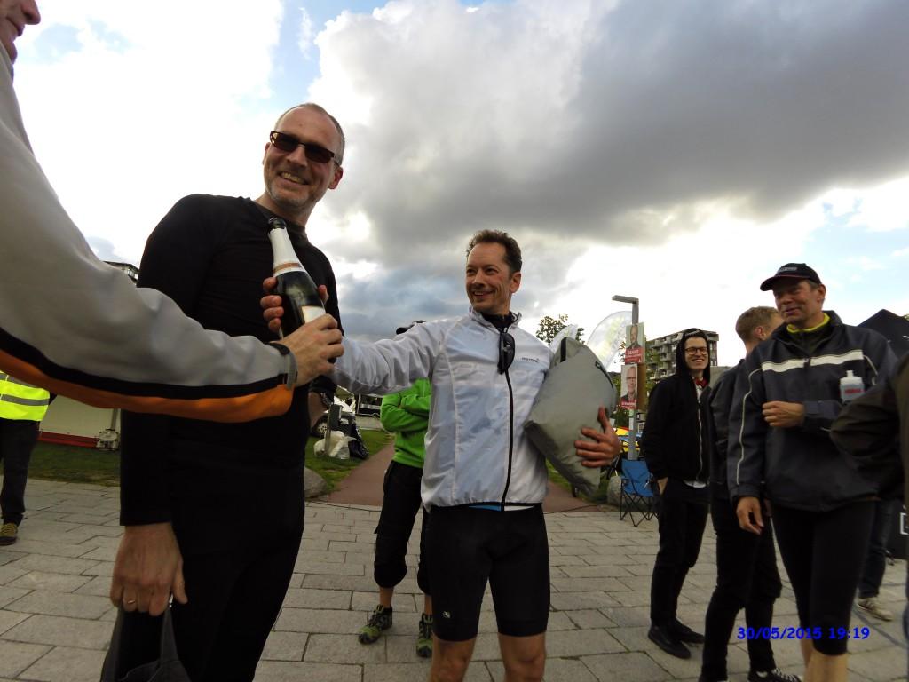 Glad vinder af Velomobil Street Race 2015