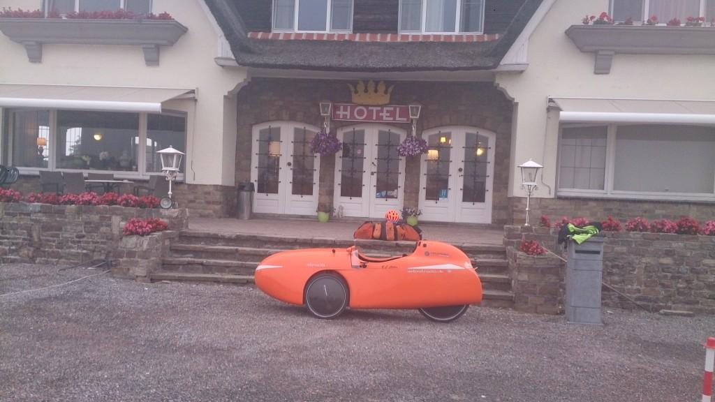 Arconaty Hotel nær Tienen, klar til at pakke