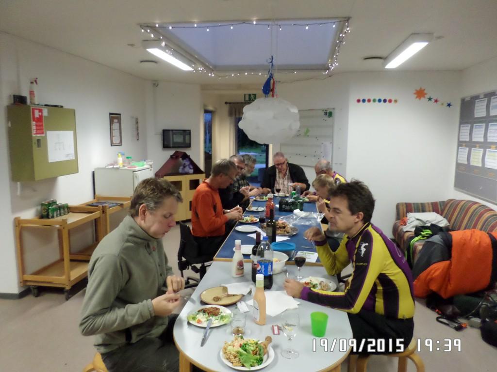 Aftensmad og hygge