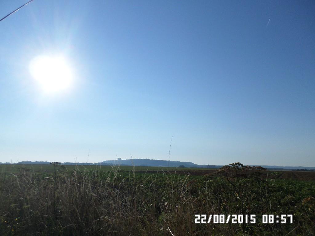 Laon i Frankrig på bakken