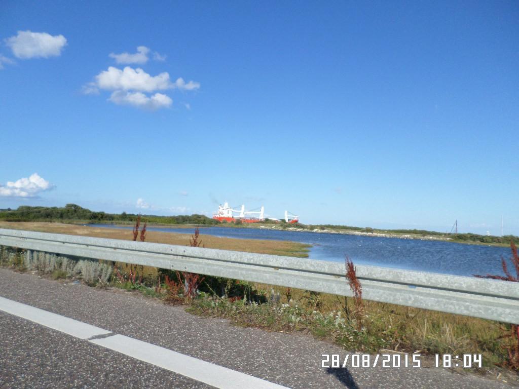 Limfjorden med skib