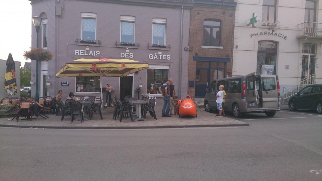 Relais de Gates Belgien