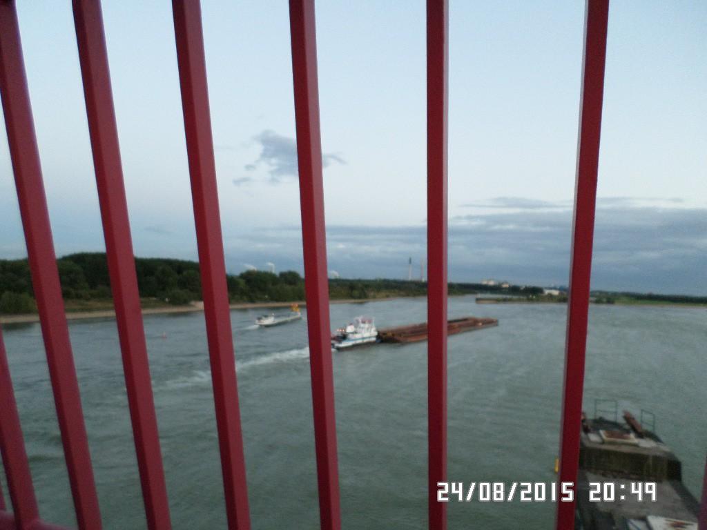 Rhien floden gennem tremmer