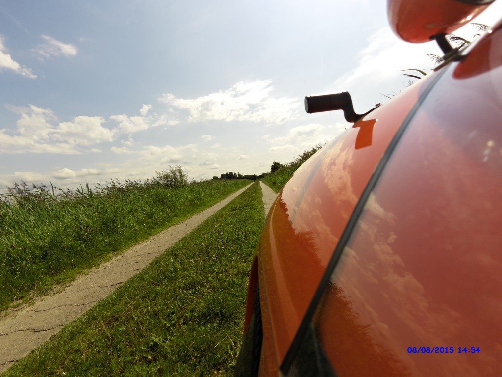 Strada på tysk cykel rute