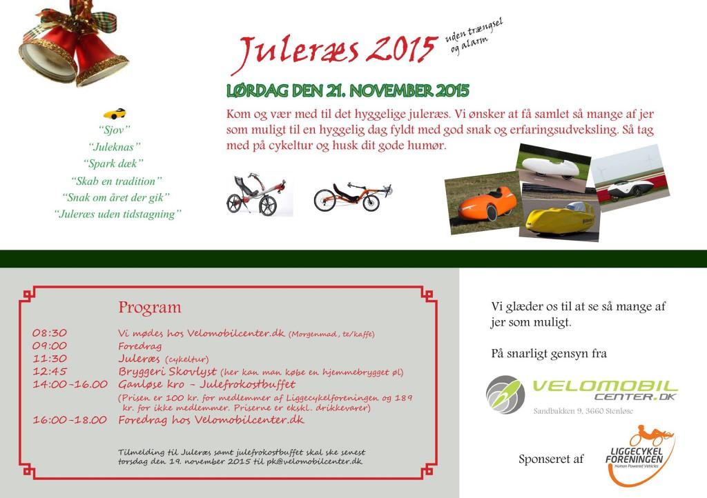 Program Juleræs 2015