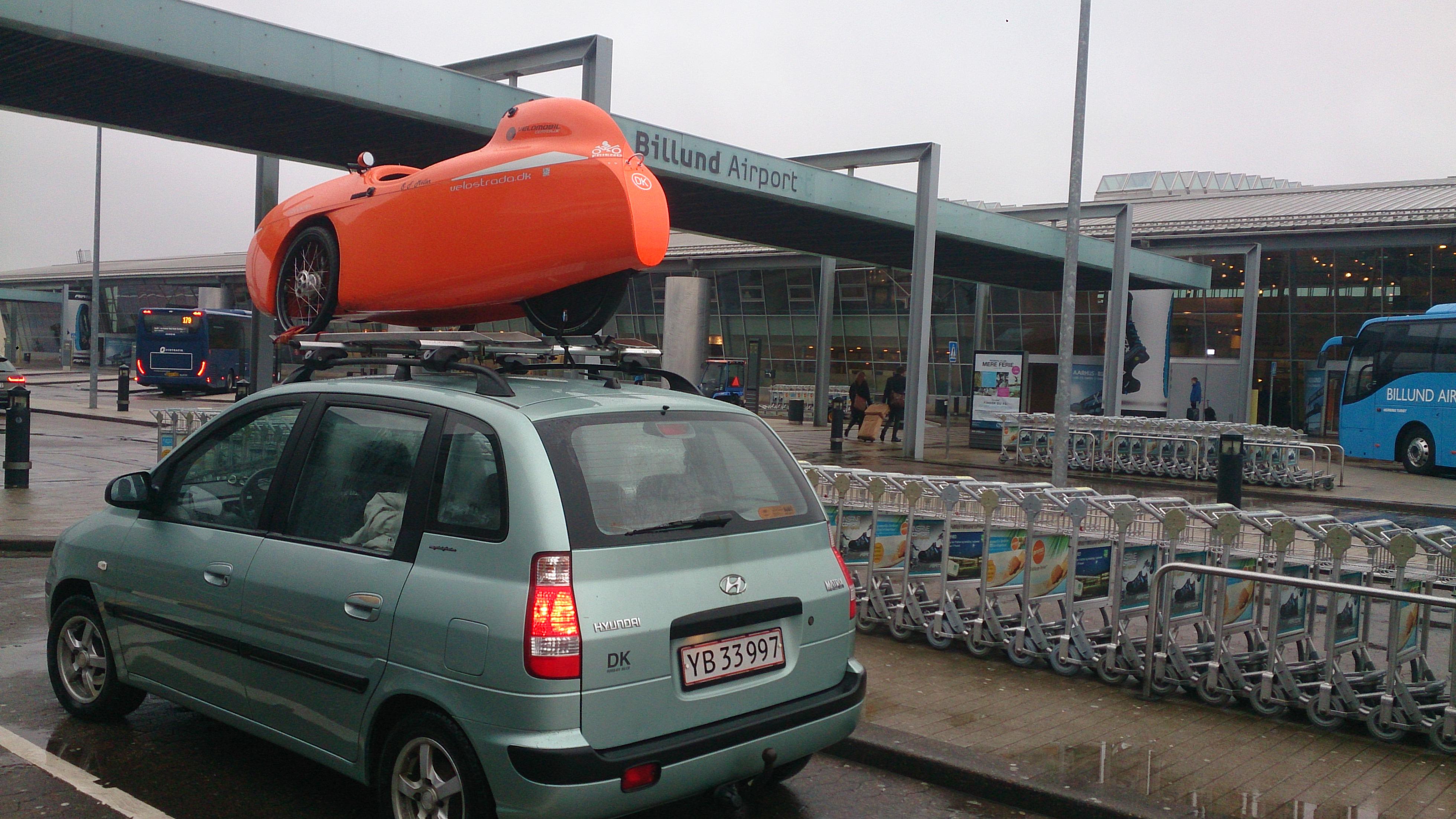 Strada Og Matrix i Billund Lufthavn