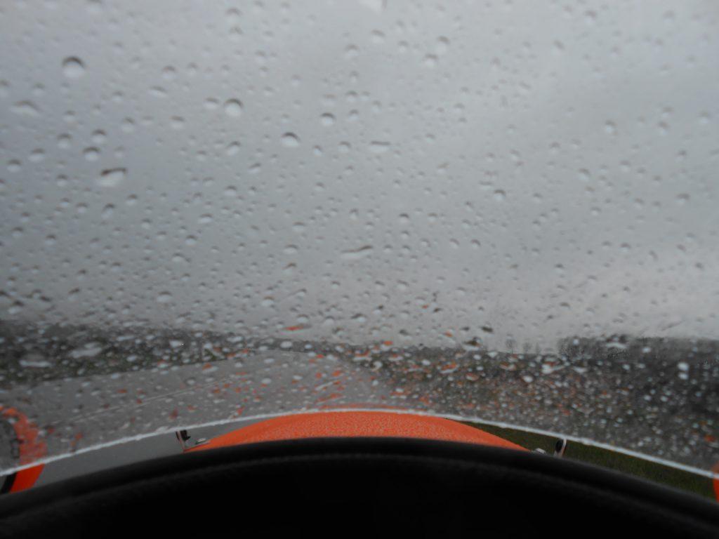 Så kom der lidt regn
