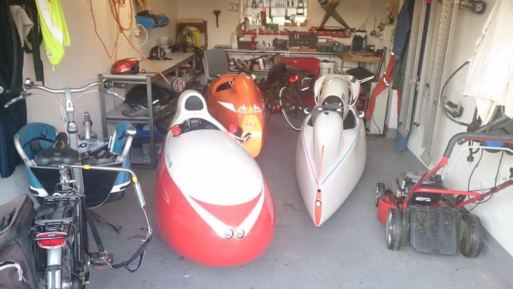Strada Quest Xs og Milan i Garagen