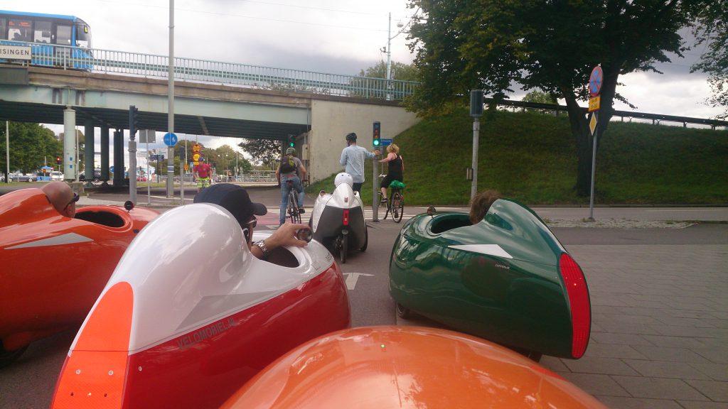 Velomobiltur til Marstrand Afgang