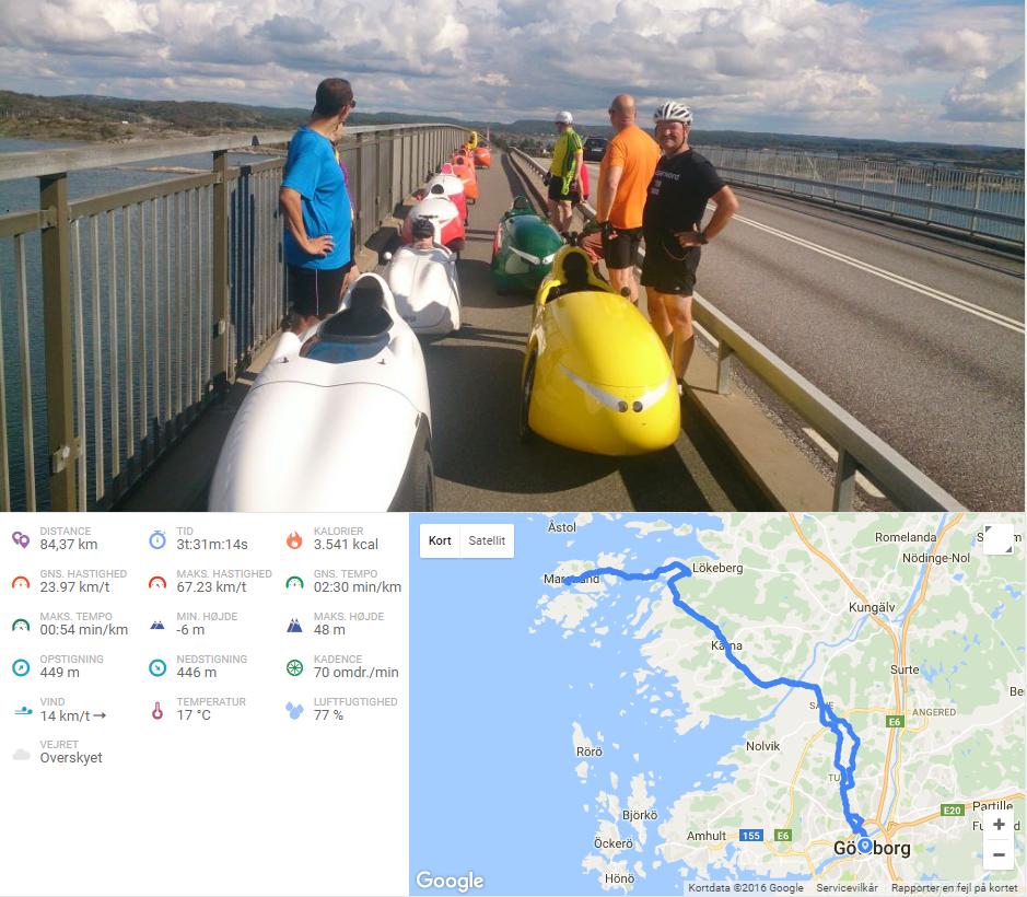 Velomobiltur til Marstrand