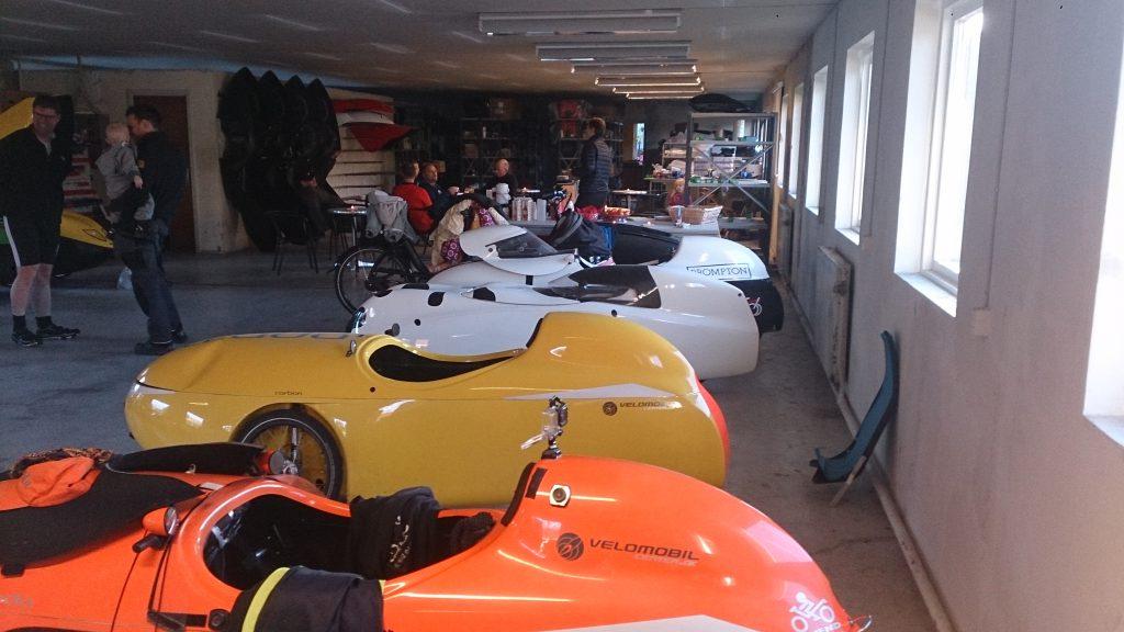 Julehygge hos velomobilcenteret