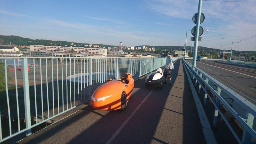 På broen i Göteborg Søndag morgen
