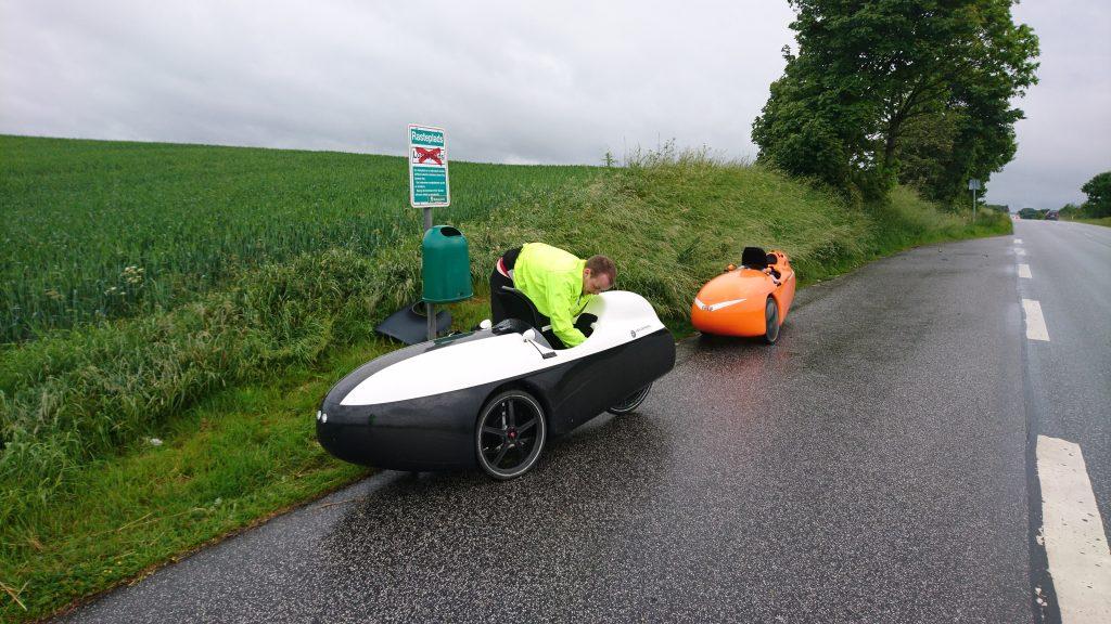 Steffens første punktering på Hadsundvej