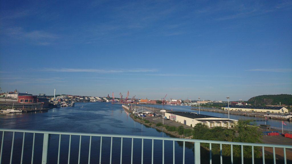 Vue mod Bananpiren Gøteborg Broen