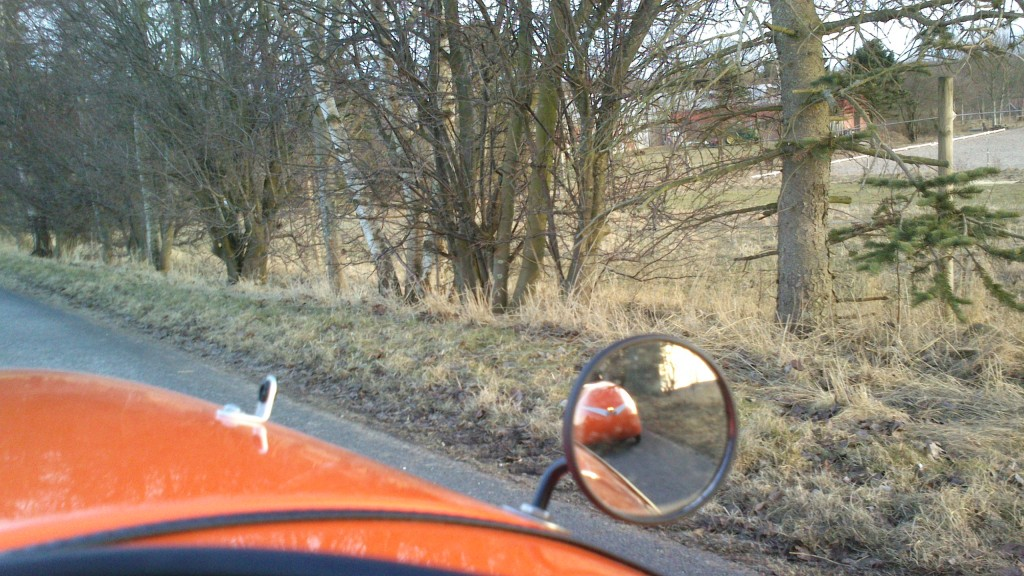 Strada i Spejlet
