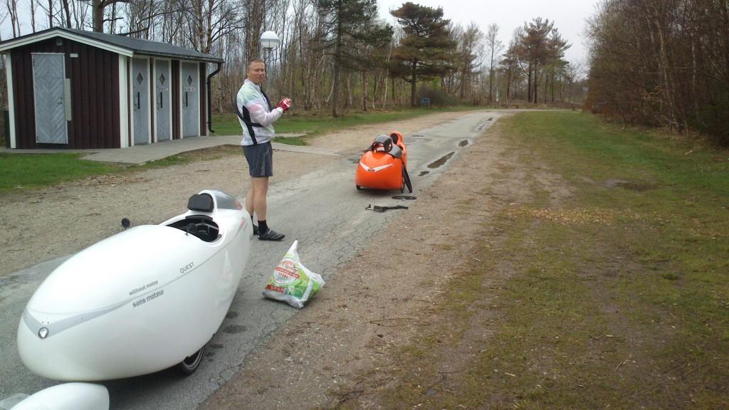 Strada og Quest på vej til Skagen