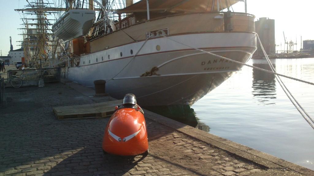 Danmark og Strada Århus Havn.