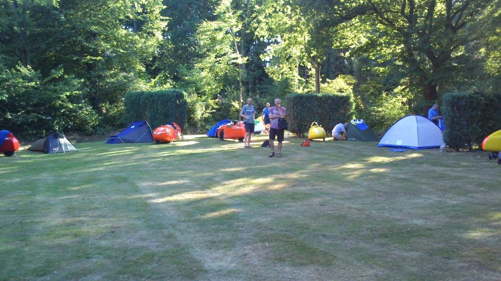 Første camping i Holland