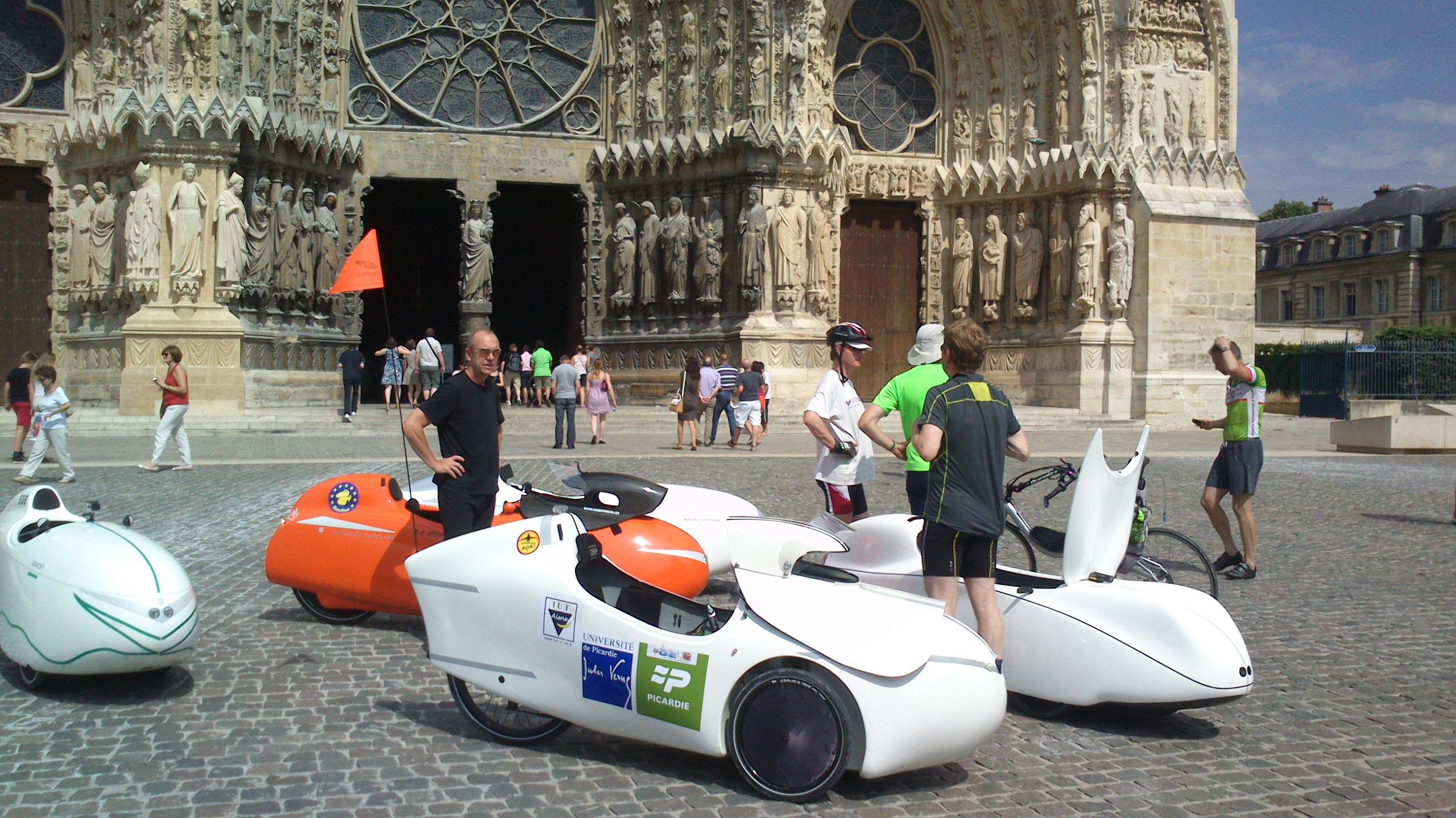Reims Katedralen Frankrig