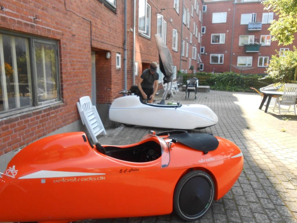Milan og Strada afgang til Odense