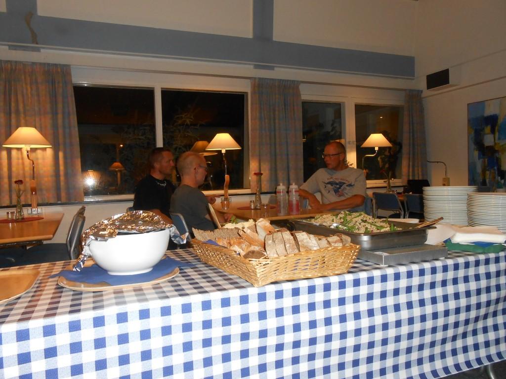 SBS 2013 Laholm Aftensmaden holdes varm til alle