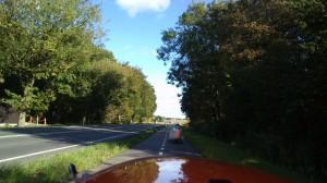 Quest og Strada på vej mod nord