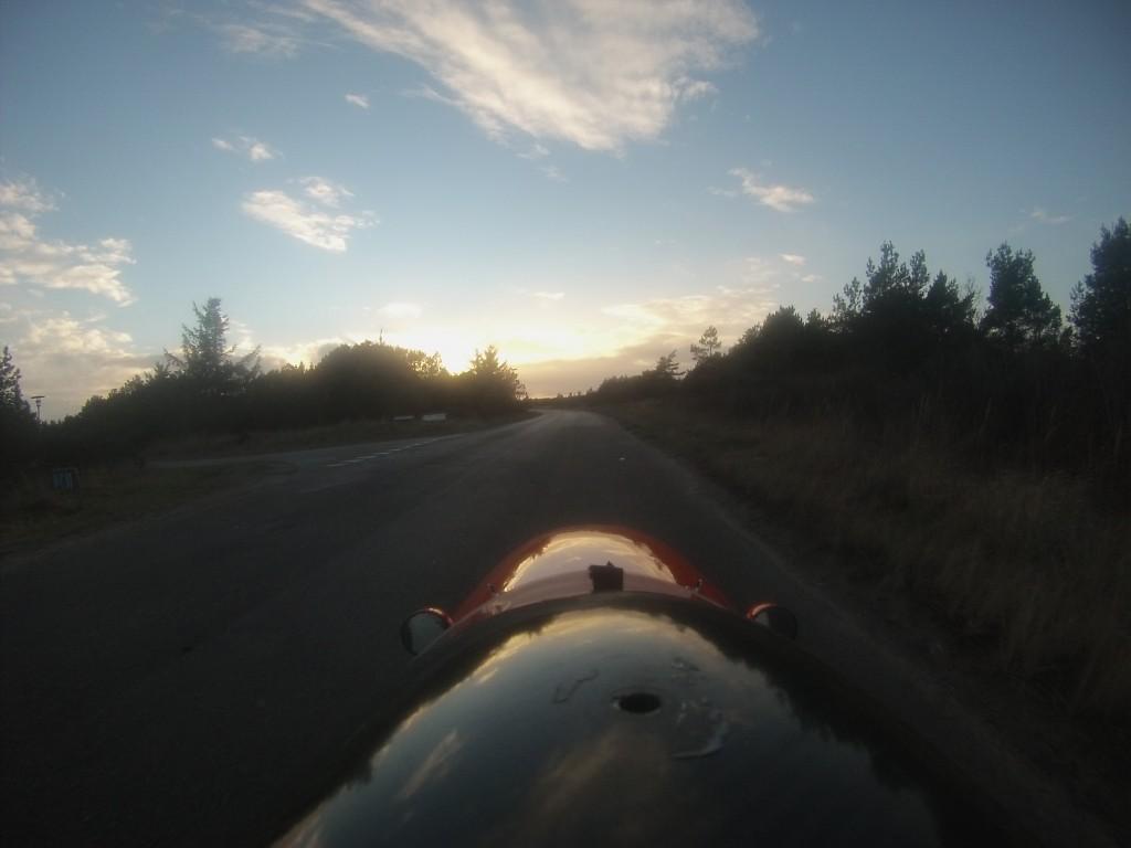 Paa vej hjem fra Skagen 12-2-2014