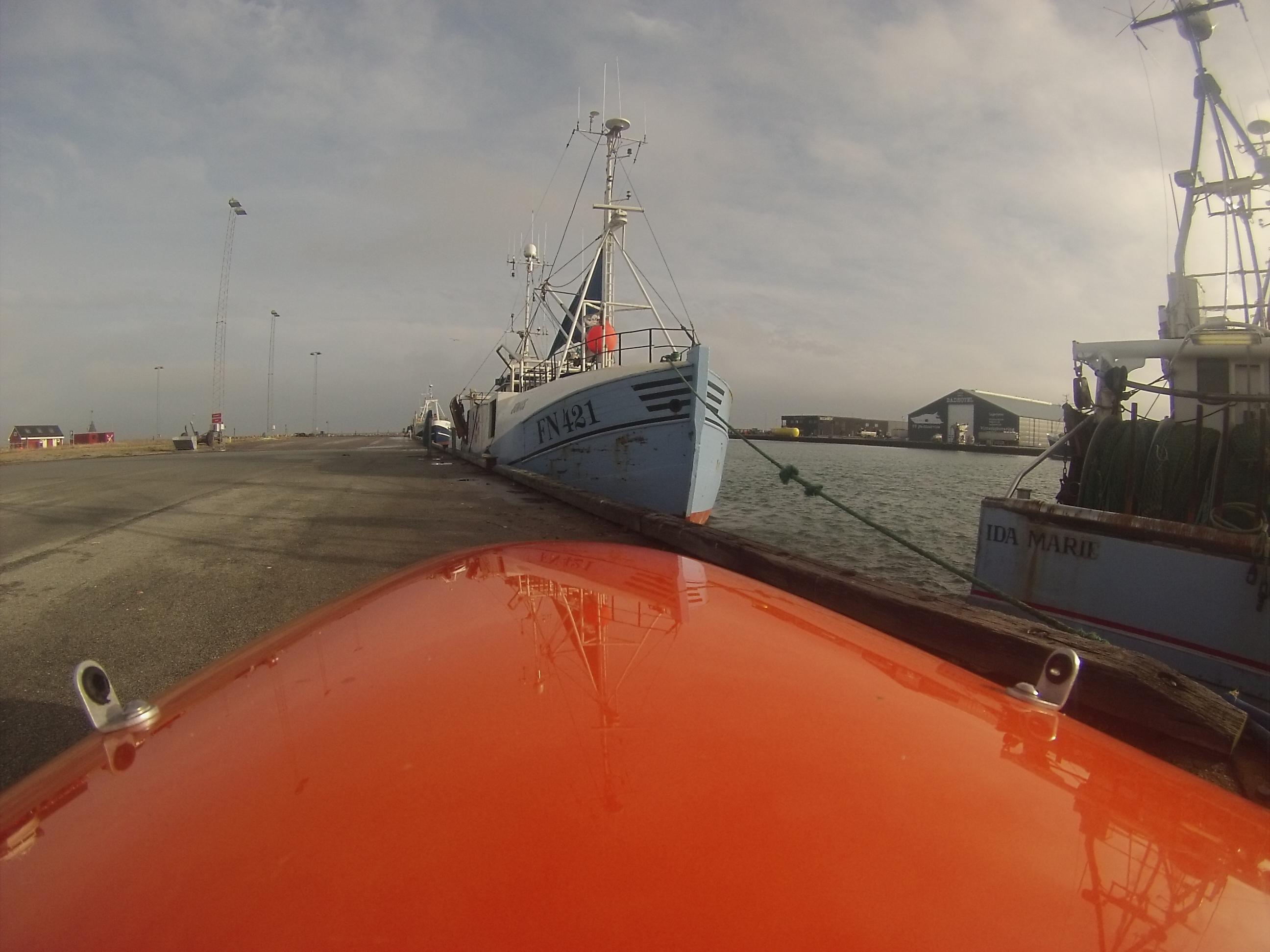 Strandby Havn februar 8-2-2014