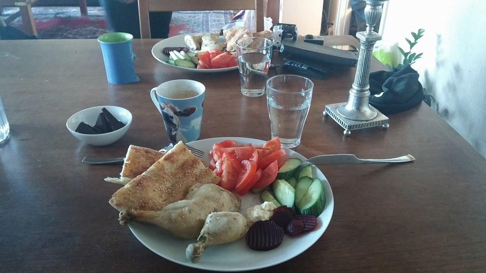 Morgenmad hos nadim