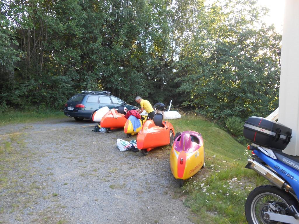 Ankommet hos Björn i Hvarnes