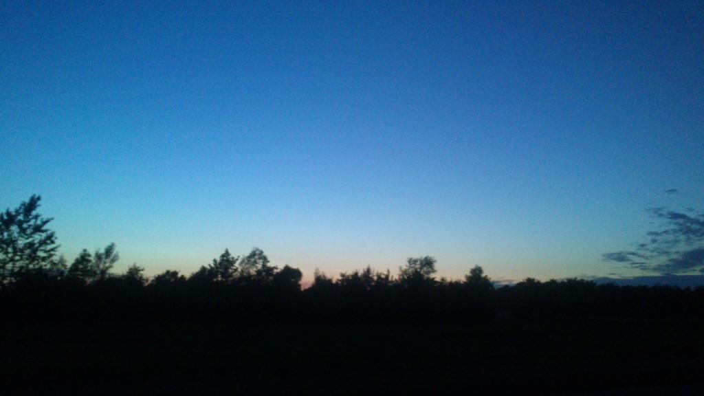 Nyder den flotte himmel